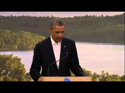 EU-US trade (TTIP) - G8 - Obama, Barroso, Van Rompuy and Cameron - 'Highlights'