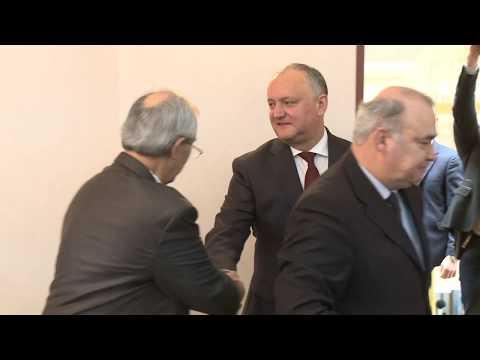 Șeful statului a prezidat o ședință cu privire la marcarea aniversării a 660-a de la formarea Țării Moldovei