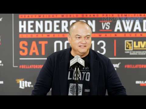 Scott Coker reacts to '50 Cent' offering $2 million contract to Khabib Nurmagomedov