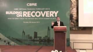 CBRE - Fearless Forecast 2015 - Building On Recovery at HCMC