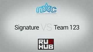 SatuDuaTiga vs Signature, game 1
