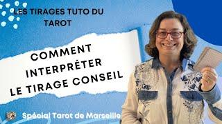 Méthodes de tirage du Tarot de Marseille - le tirage conseil - YouTube