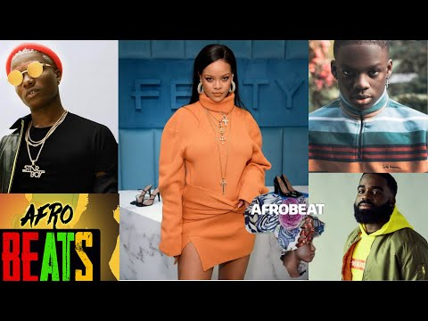 Rihanna dancing to wizkid, Afro b and rema songs