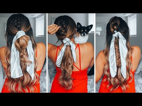 Braid hairstyles - 3 Fun Summer Hairstyles ft Foxy Locks Extensions  Ashley Bloomfield