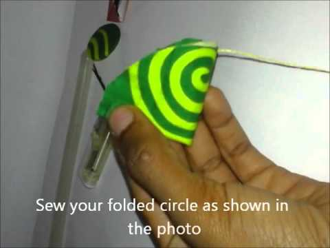 DIY  How To Make Hair Fascinator With Ankara  1