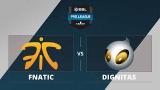 Dignitas vs fnatic, game 1