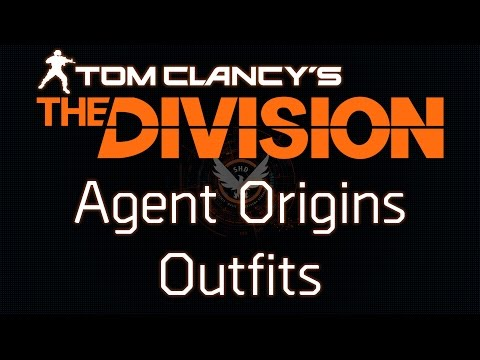 The Division Agent Origins Outfits