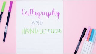 Video How To Hand-Letter Your Bullet Journal | Plan With Me MP3, 3GP, MP4, WEBM, AVI, FLV Juli 2018