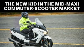 4. 2018 KYMCO XTown 300i Review - ZUBER CAR