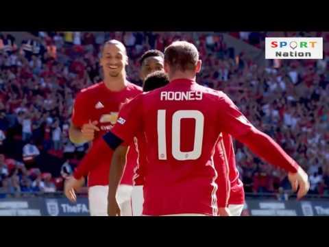 اهداف مانشستر يونايتد ضد لستر ستي 2-1 جودة عالية