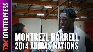 2014 Montrezl Harrell Interview - DraftExpress - Adidas Nations