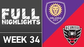 HIGHLIGHTS | Orlando City SC vs. D.C. United by Major League Soccer