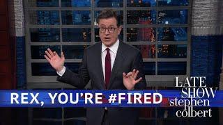 Video Rex Tillerson Got Fired Via Twitter MP3, 3GP, MP4, WEBM, AVI, FLV Juli 2018