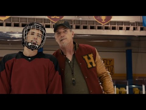 STATUS UPDATE (ice hockey tryouts) movie scene.