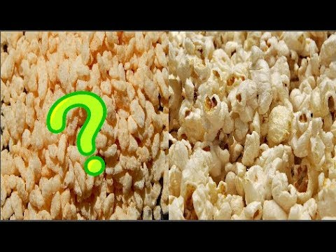 ¡ INCREIBLE ! ¿palomitas De Arroz?