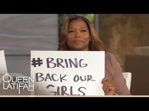 The Panel Shows Their Support For #BringBackOurGirls on The Queen Latifah Show