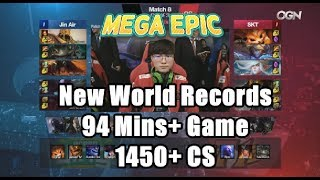 Video [MEGA EPIC] JAG (Umti Khazix) VS SKT (Faker Kassadin) Game 3 Highlights - 2018 LCK Spring W1D4 MP3, 3GP, MP4, WEBM, AVI, FLV Agustus 2018