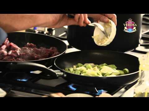 Video - Tornillos al horno con Pastas Verona