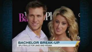 'Bachelor' Breakup: Jake and Vienna Split