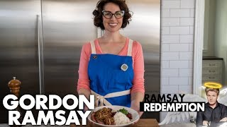 Can a Steak Dish Burned by Gordon Ramsay Get a Makeover?   Ramsay Redemption by Gordon Ramsay