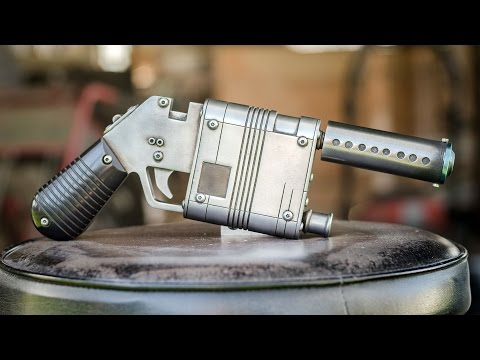 Prop Maker Bill Doran Works With Tested to Build Rey  s Blaster From Star Wars The Force