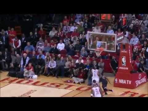 Corey Brewer's touchdown pass to Trevor Ariza