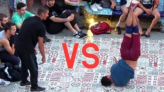 Cool Break Dance Battle | Unbelievable boys vs girl street BreakDancing
