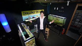 My NEW Fish Room Tour 2020 by  Challenge the Wild