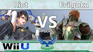 Riot (Bayonetta) vs. Evilgoku (Ganondorf) – Pools – EagleLAN
