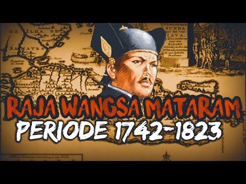 RAJA RAJA KASUNANAN SURAKARTA 1742-1823.