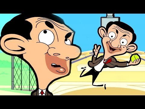 Tennis Bean 🎾 | Funny Clips | Cartoon World
