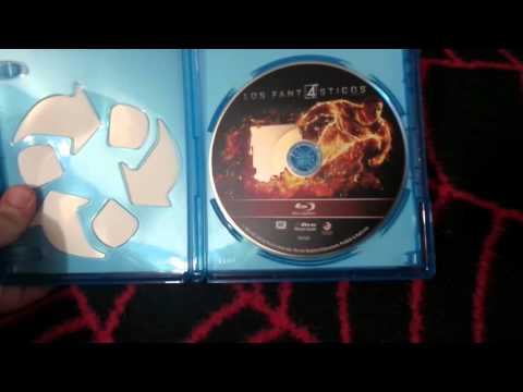 Fantastic four 2015 blu-ray unboxing and steelbook