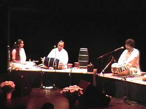 Anindo Chatterjee and Trichy Sankaran - tabla-mridangam duet - Toronto 2002
