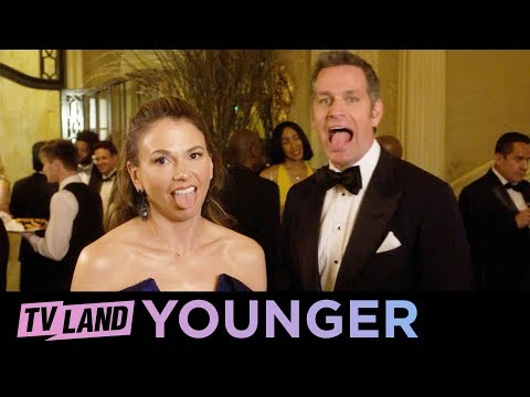 'Friends With Benefits' Younger Ep. 7 Bloopers (Compilation) | TV Land