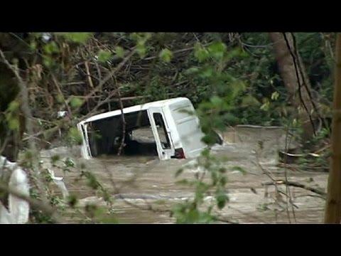 Εκτεταμένες πλημμύρες στη Δυτική Ρουμανία
