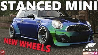 Forza Horizon 4: Widebody Mini w/ NEW WHEELS + NEW Paintable Sections!! CUSTOMIZATION UPDATE