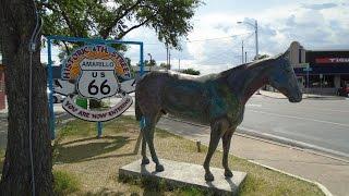 Amarillo (TX) United States  city images : ROUTE 66, AMARILLO, TEXAS, USA