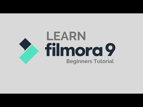 Filmora9  Tutorial - Designed For Beginners