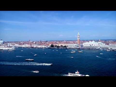 Venedig - Blick vom Campanile San Giorgio Maggiore -  ...
