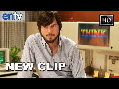 0 First Look: Ashton Kutcher as Steve Jobs in jOBS | Video