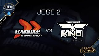 Kino vs KaBuM, game 2