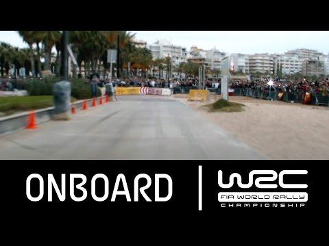 Vídeo onboard Larvala tramo 17 Salou WRC Rally RACC Cataluña España 2015