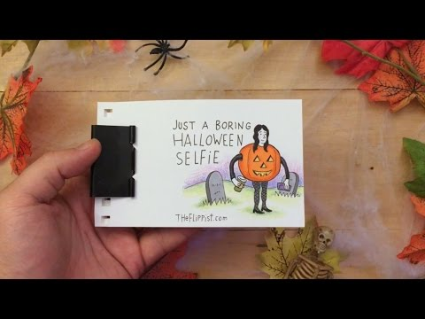 Spooky Halloween Flip Book Animation