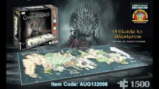 4D Cityscape now introduces the office puzzle for Game of Thrones, based on the award-winning HBO series. This puzzle will...