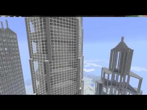 MineCraft 1.2 SkyScrapers