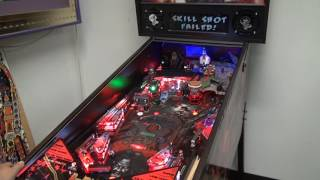 Rob Zombie Spookshow International LE  Pinball Machine Video #1 Adult mode