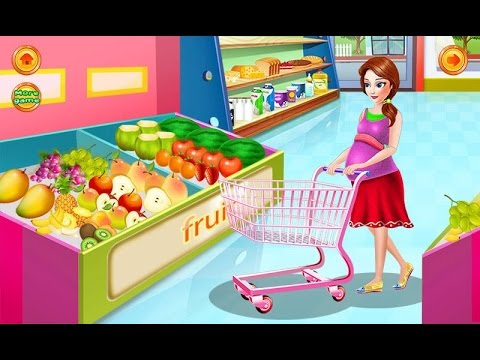 "Pregnant Mom Food Shopping ""Unlock All"" Android İos  Free Game GAMEPLAY VİDEO"