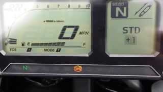7. Yamaha Super Tenere 2014 new Dash in action