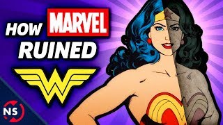 SUBSCRIBE and hit that bell! 👉🔔 http://nerdsyn.cc/_SUBSCRIBE_Wonder Woman has a rich history at DC Comics, but that history was ruined by pressure from Marvel Comics to take the Amazon warrior princess and give Diana Prince a 1960s mod fashion makeover and had her do karate. Yeah, it was a weird and bizarre time in Wonder Woman's history...Please consider supporting our videos on Patreon❤️ https://www.patreon.com/NerdSync ❤️—————WATCH MORE!—————Can WONDER WOMAN Fly?▶ https://youtu.be/mwK4Z8i_cio?list=PLPEShH2LWsQAU0nI860IA4a4QjTSHKVMQETTA CANDY: Wonder Woman's AMAZING Sidekick!▶ https://youtu.be/tNWguV4hzNM?list=PLPEShH2LWsQAU0nI860IA4a4QjTSHKVMQWONDER WOMAN Movie Review! How Good is the New DC Film?▶ https://youtu.be/sgrUk97Mncc?list=PLPEShH2LWsQAU0nI860IA4a4QjTSHKVMQ————ABOUT NERDSYNC————Comic books are an incredible medium filled with the amazing adventures of fantastic superheroes, but they are also much more than just stories on a page. We here at NerdSync see comics as a tool that can help teach us about the world we live in! Join us each week as we explore fascinating topics that range from science, history, philosophy, culture, and art, making complex ideas a little more accessible through the heroes and villains from Marvel, DC Comics, and more, you wonderful nerd!Hosted by Scott Niswander (@ScottNiswander)NERDSYNC SIDEKICK: Our second channel!▶ https://www.youtube.com/channel/UClYvcNvXVtOjAw4Ykq3lpKATWITTER: http://nerdsyn.cc/followNSFACEBOOK: http://nerdsyn.cc/likeNSINSTAGRAM: https://www.instagram.com/nerdsync/SUBREDDIT: https://www.reddit.com/r/NerdSync/———————SOURCES———————Wonder Woman Unbound: The Curious History of the World's Most Famous Heroinehttps://goo.gl/2N8a5vA Succinct History of the Mod Era Wonder Womanhttp://www.writeups.org/wonder-woman-mod-karate-dc-comics/Obligatory Brian Cronin articlehttp://www.cbr.com/abandoned-love-how-do-we-get-wonder-woman-back-from-being-a-mod/