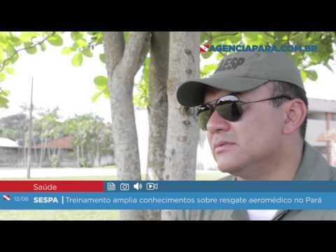 Treinamento amplia conhecimentos sobre resgate aeromédico no Pará